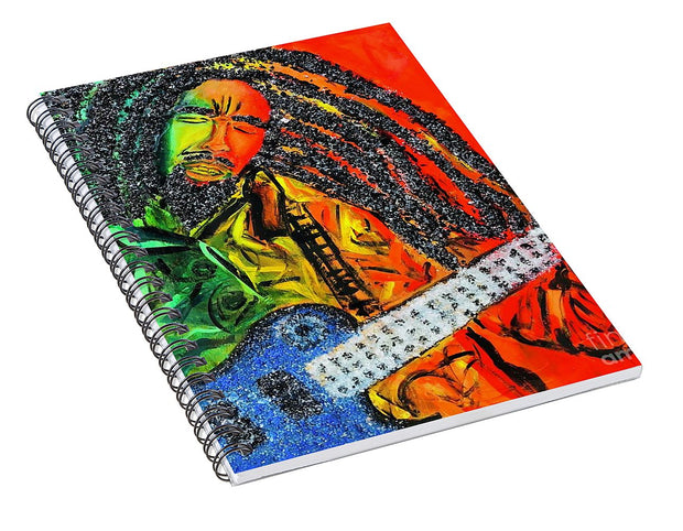 Jammin - Spiral Notebook