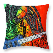 Jammin - Throw Pillow