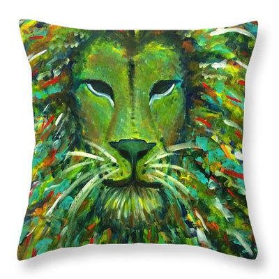 Jungle King - Throw Pillow