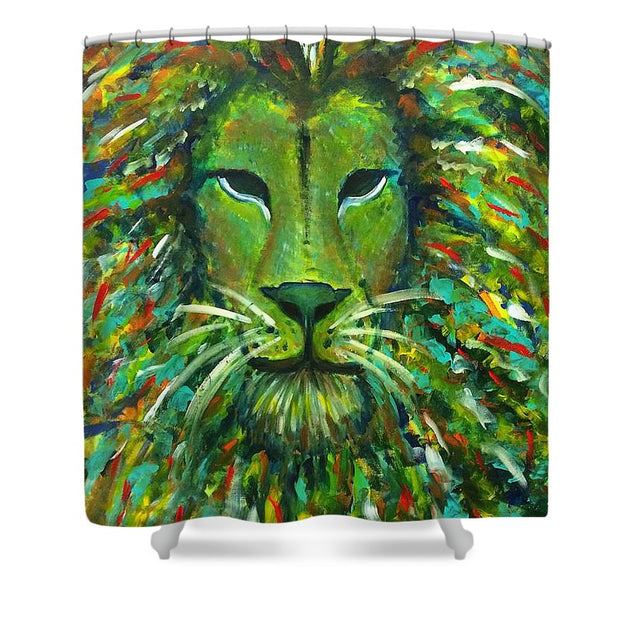 Jungle King - Shower Curtain