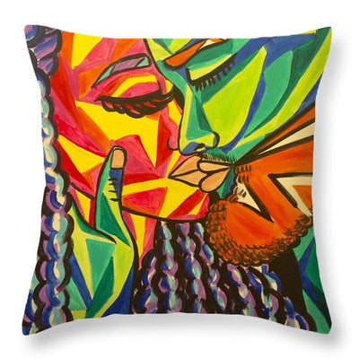 Kiss Of Passion - Throw Pillow