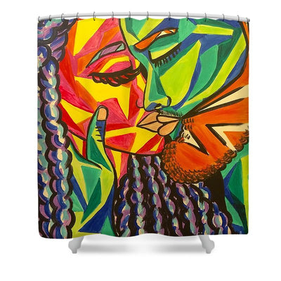 Kiss Of Passion - Shower Curtain