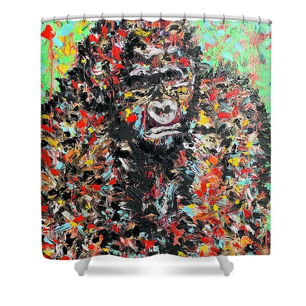 Mighty - Shower Curtain