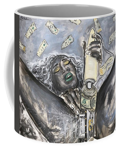 Money Makes Me Cum - Mug