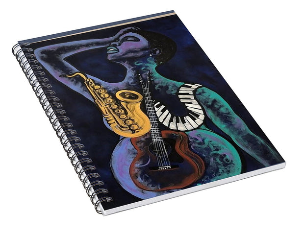 Mother Melody - Spiral Notebook