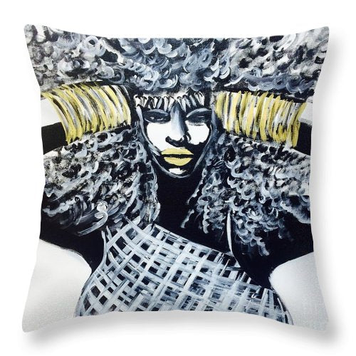 No More - Throw Pillow
