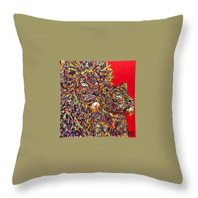 Power Couple - Throw Pillow