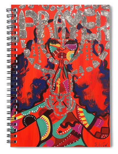 Prayer - Spiral Notebook