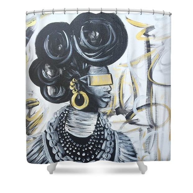 Queen Of Slay - Shower Curtain