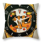 Right On Time - Throw Pillow