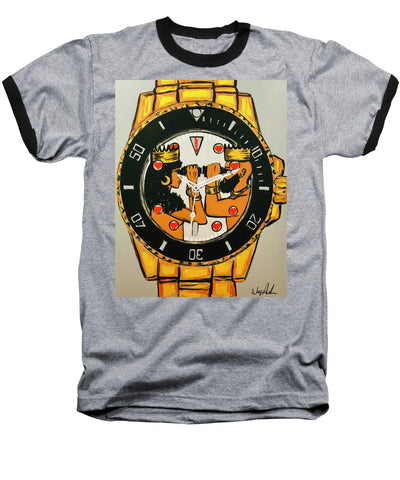 Right On Time - Baseball T-Shirt