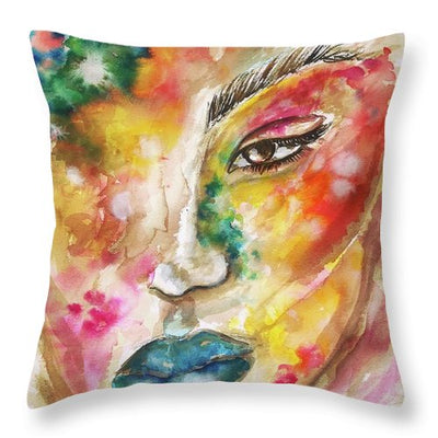 She Is Everything  - Throw Pillow
