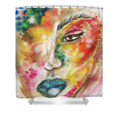She Is Everything  - Shower Curtain