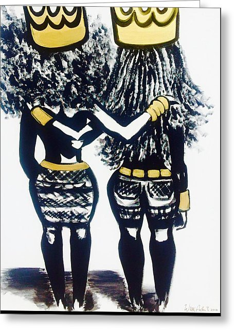 Sisters Keeper - Greeting Card