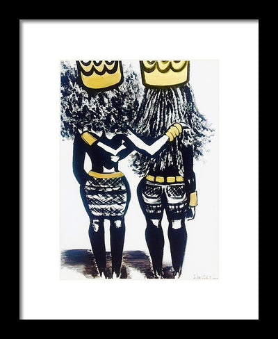 Sisters Keeper - Framed Print
