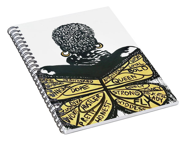 So Fly - Spiral Notebook