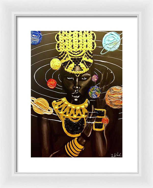 Solar Queen - Framed Print