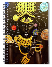 Solar Queen - Spiral Notebook