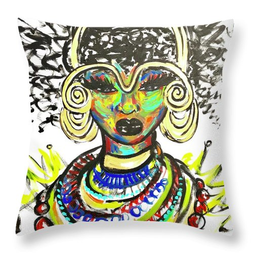 Strength - Throw Pillow