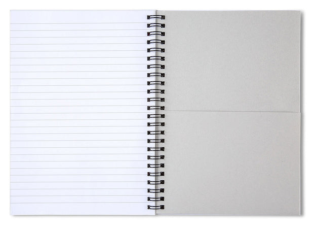 Right On Time - Spiral Notebook
