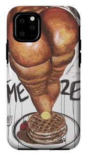 Thicken And Waffles - Phone Case
