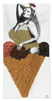 Three Scoops - Beach Towel