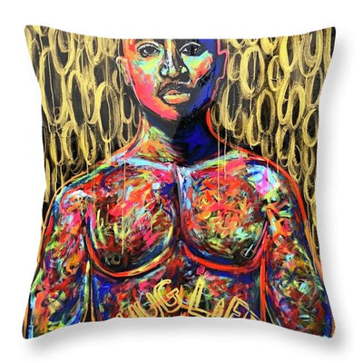 Tupac  - Throw Pillow