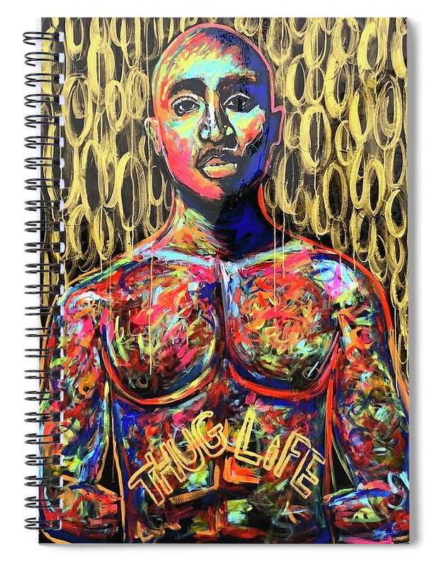 Tupac  - Spiral Notebook
