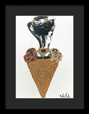 Two Scoops - Framed Print
