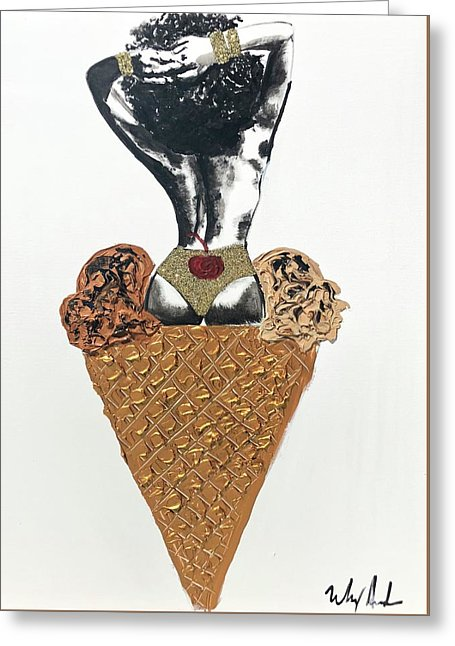 Two Scoops - Greeting Card