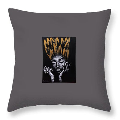 Untouchable - Throw Pillow