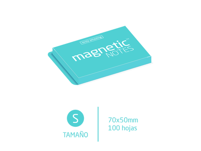 Magnetic Notes Color Pastel - S