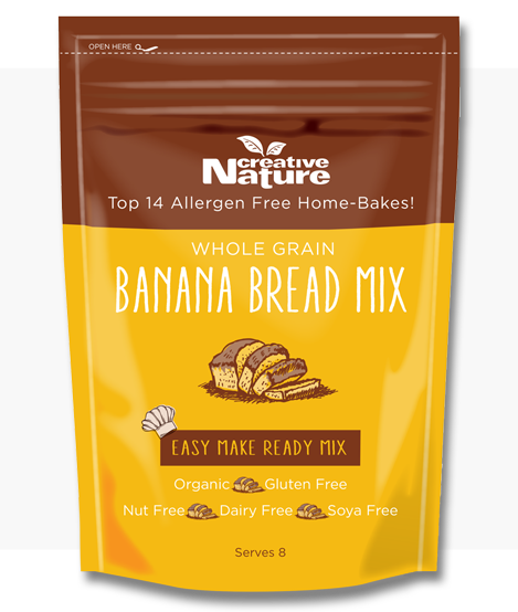 Creative Nature - Banana Bread Mix - Neolitik Iberia