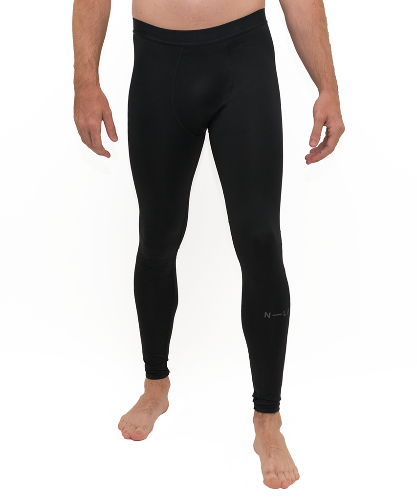 N-LA COMPRESSION TIGHTS BLACK