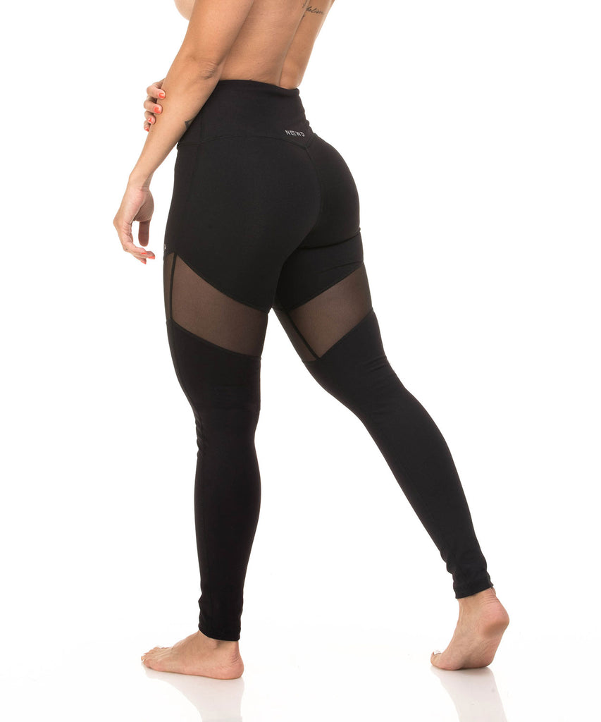 N1 LEGGING MESH BLACK