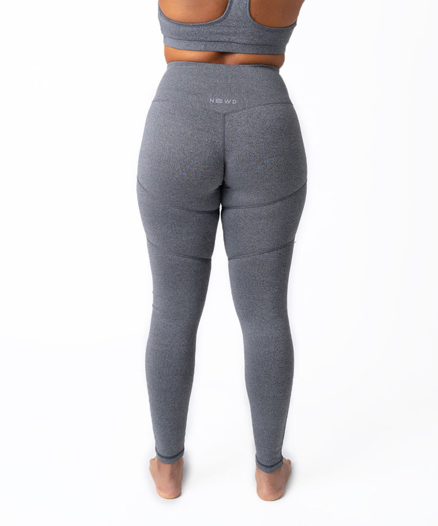 N1 LEGGING SOLID HEATHER GREY