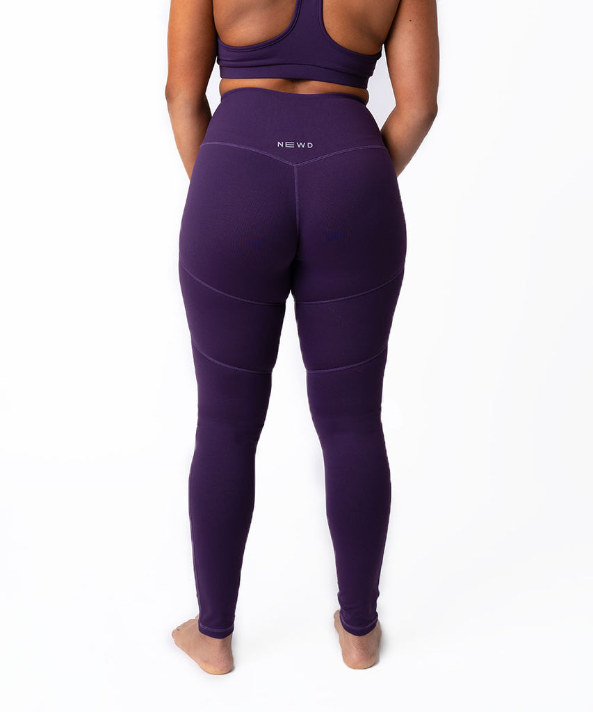 N1 LEGGING SOLID PLUM