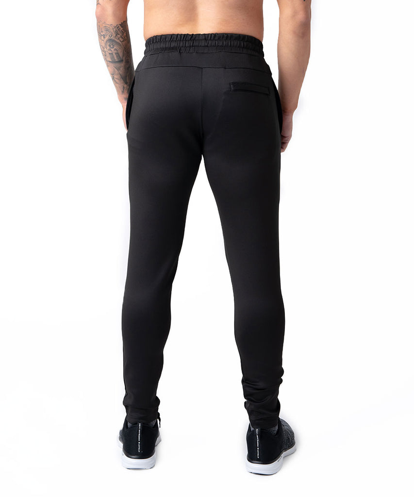 N-LA TECH TRACK PANTS BLACK