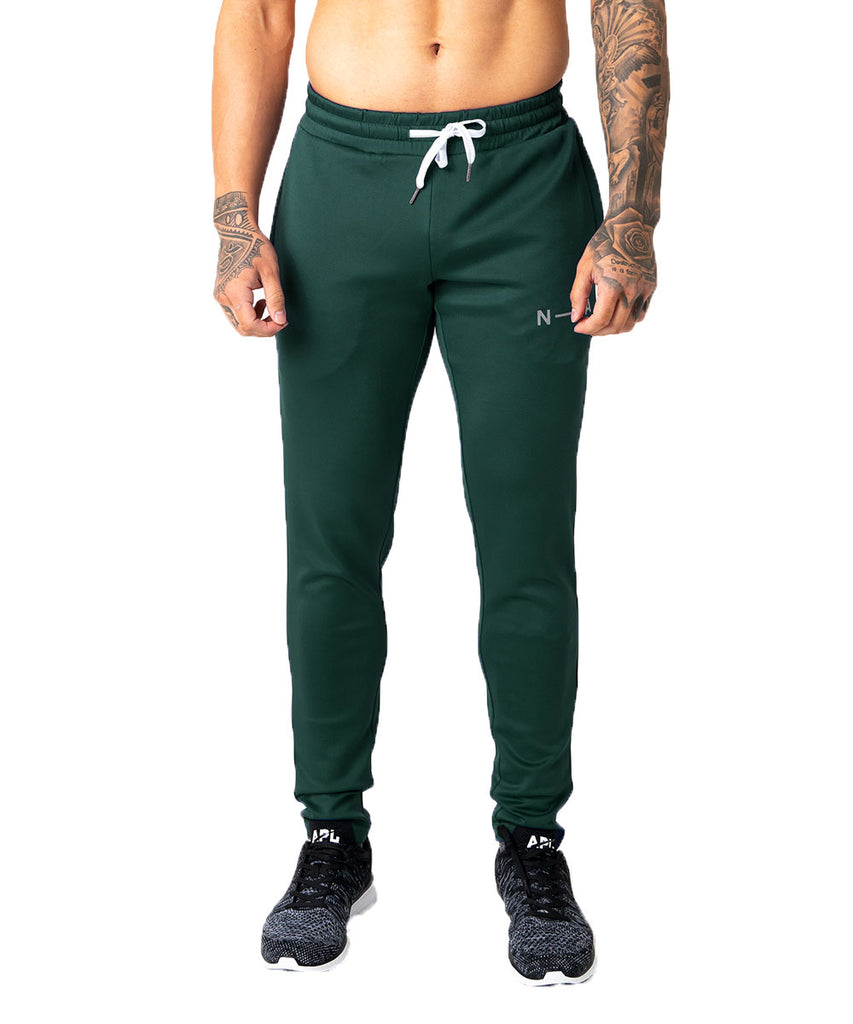 N-LA TECH TRACK PANTS EMERALD