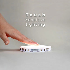 Touch Activated HexaLight