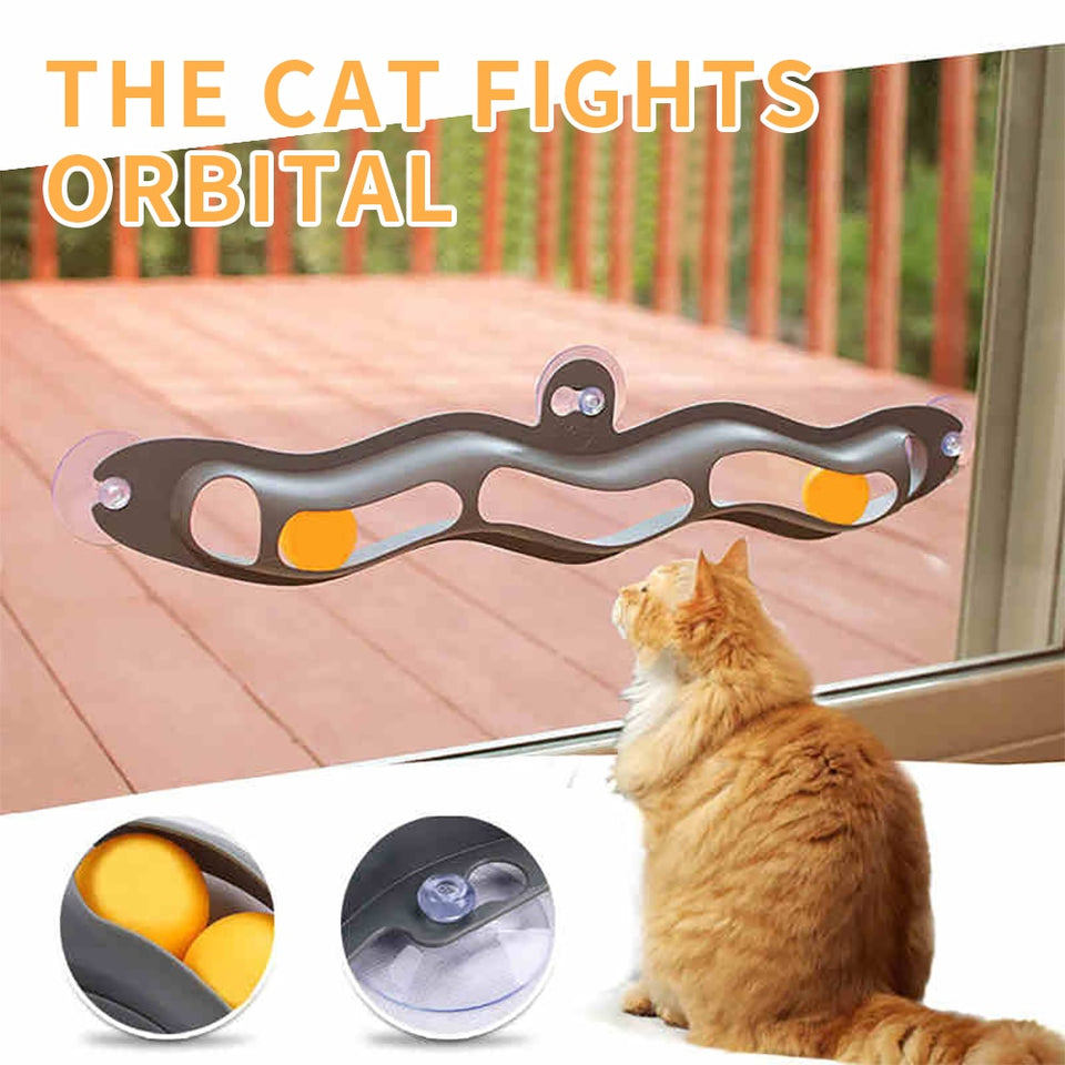 Window Suction Toy for Cats