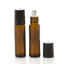 Load image into Gallery viewer, Jar Bar™ Refillery - Amber Roller Ball Vials