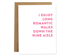 Rhubarb Paper Co. - Wine Aisle card