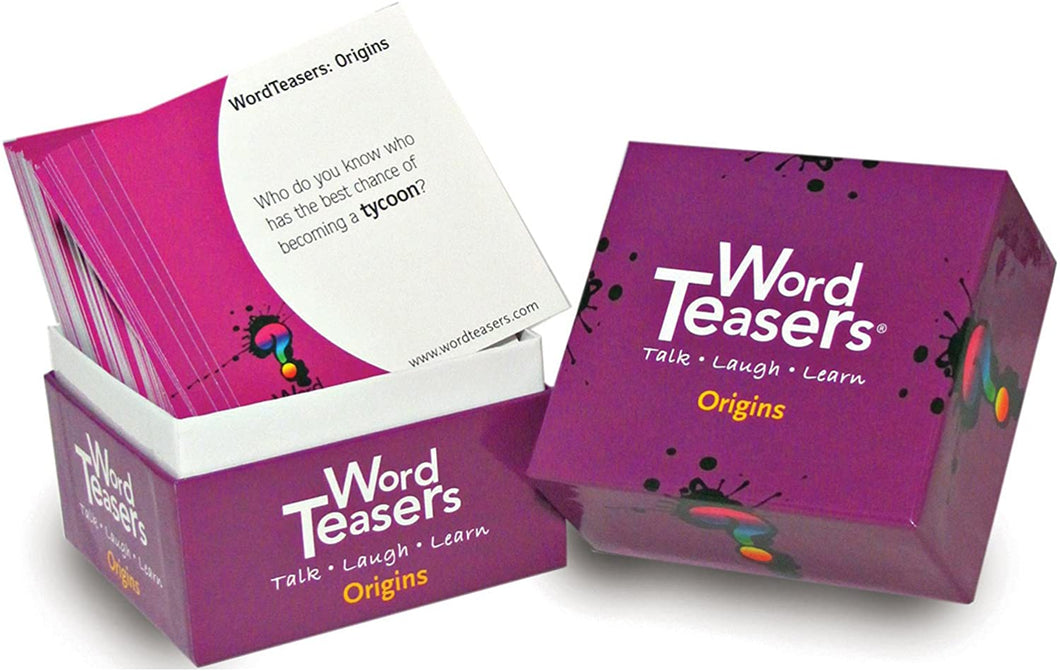 Word Teasers - Conversation Starting Cards