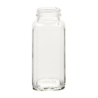 Jar Bar™ - Dairy French Square Bottle - 8oz.