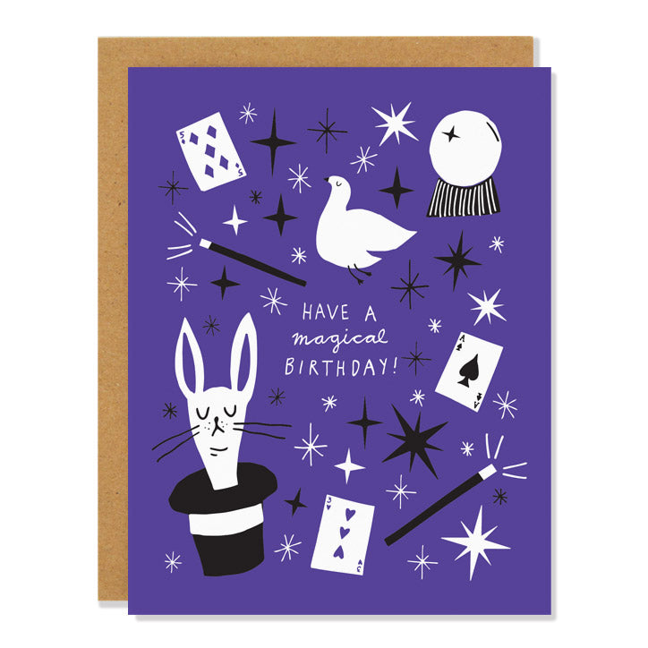 Badger & Burke - Magical Birthday card