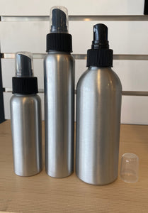 Jar Bar™ Refillery - Aluminum Bottles / tops