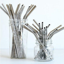 Load image into Gallery viewer, Onyx - Stainless Steel Straws (Individual)