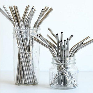 Onyx - Stainless Steel Straws (Individual)