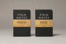 Load image into Gallery viewer, Field Notes Dot-Graph Paper Memo Books (set of 3)